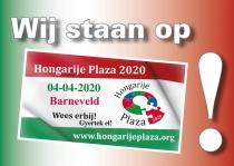 Wij staan op Hongarije Plaza