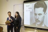 San Verhaevert & Csilla Grót brengen Hongaarse poëzie